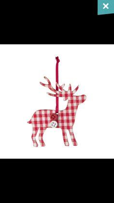 Reindeer Tree Decoration