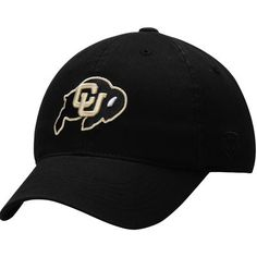Colorado Buffaloes Top of the World Relaxer 1Fit Flex Hat - Black