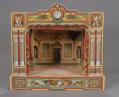 German Wood and Lithographed Paper Theater