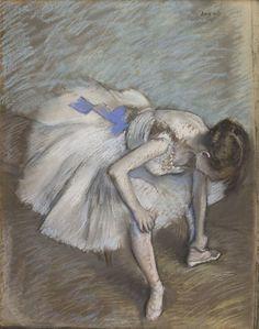 Edgar Degas, Danseuse assise, 1881-1883