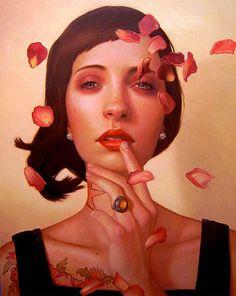 Kris Lewis. Love oil paintings.