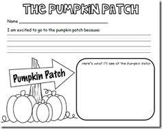 Kindergarten farm writing paper