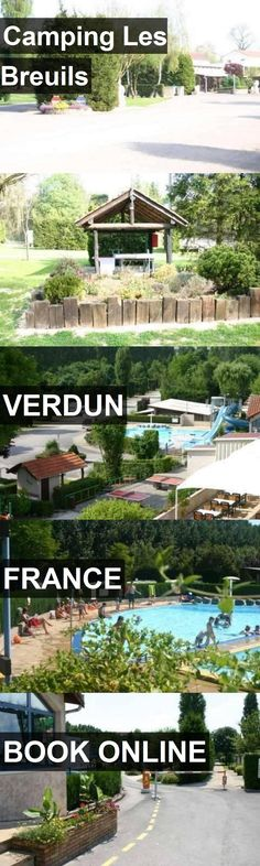 Hotel Camping Les Breuils in Verdun, France. For more information, photos, reviews and best prices please follow the link. #France #Verdun #travel #vacation #hotel