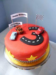 Disney Cars cake for Joshua's 3rd