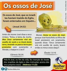 Os ossos de JOSÉ Bibel Journal, Jesus Freak, Torah, No One Loves Me, Bible Verses, First Love, Religion, Study, Faith