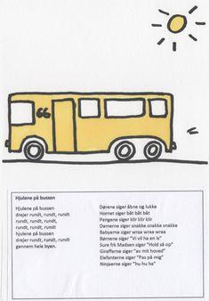Sangbog for børn - en lille illustreret sangbog til de mindste Bb, Singing, School, Creative, Schools