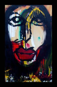 Kelli Dubay Original Fine Art Oil and Acrylic by Megalomaniart, $500.00