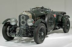 Bentley 4.5-litre Blower (Ralph LaureenCollection). The absolute ultimate!