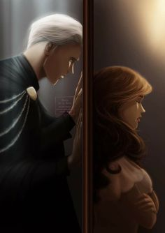 Harry Potter Anime, Harry Potter Couples, Harry Potter Images, Harry Potter Film, Harry Potter Fan Art, Draco And Hermione Fanfiction, Dramione Fan Art, Shadow Hunters, Hermione Granger
