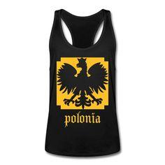 Polonia Sports - Männer Tank Top mit Ringerrücken #polska #polskashop #polskatanktop #poloniatanktop #polnischebekleidung #poloniastore #tanktop #sport #fitness #mypolonia