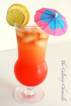 Mai Tai--with umbrella for @Lisa Phillips-Barton Elifritz and @Brenda Myers Jurgens here you go ladies