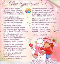 happy new year poems for friends bing images