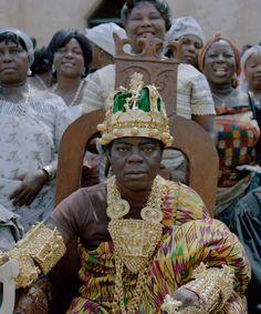 King Bansah of Ghana.