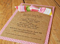 54 Best Handmade Bridal Shower Invitations Images In 2019