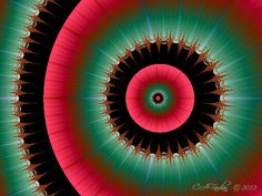 Abstract Fractal Art Digital Photo Print Off by TerraTreasures, $14.00