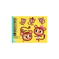 Quistitwist,majmos gyorsasági és megfigyelő kártyajáték 5 éves kortól - Djeco