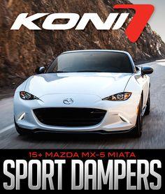Koni Sport (Yellow) Shock 2016+ Mazda MX-5 Front #8241-1310Sport, & Rear #8241-1310Sport: KONI SPORT YELLOW DAMPERS… #Blog #New_Products