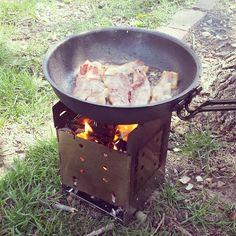 Bacon, Need I say more.. #fireboxstove