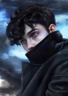 ArtStation - Aspen eyes, Klaudia Kotecka The Effective Pictures We Offer You About creepy Riddles A quality picture can tell you many things. You can find the most beautiful pictures that can be prese Digital Art Girl, Digital Portrait, Portrait Art, Character Portraits, Character Art, Handsome Anime, Boy Art, Anime Guys, Art Inspo