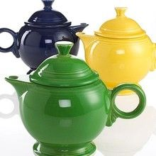 Fiesta Covered Teapot - so many colors to choose from!