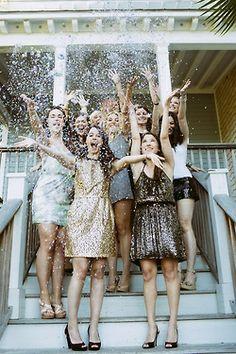 southern1ove:  Glitter Bachelorette Party via Paige Winn Photo