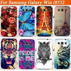Barato Barato pintura Fashion Case para Samsung Galaxy i8552 Win i8550 capa para Samsung Galaxy Win i8558 volta caso frete grátis, Compro Qualidade Sacos & Casos de telefone diretamente de fornecedores da China:                                                                    Bem-vindo à nossa loja!