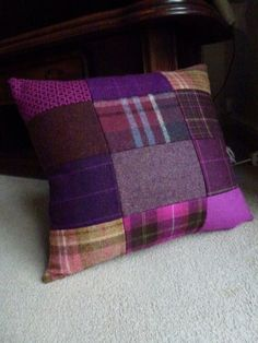 wheelchair seat cushions for pressure sores CLICK Visit link above for more details - Cushions – Update Your Sofa With New Cushions Cushion Covers, Pillow Covers, Harris Tweed, Wool Quilts, Patchwork Cushion, Sewing Pillows, Wool Pillows, Creation Couture, How To Make Pillows