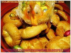 ΚΟΥΛΟΥΡΑΚΙΑ ΠΑΣΧΑΛΙΝΑ Greek Sweets, Pin On, Greek Recipes, Carrots, Food And Drink, Cookies, Meat, Vegetables, Desserts