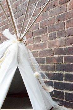 Small Pet TeePee in Cream with Natural by TheHappyExchangeShop, $150.00