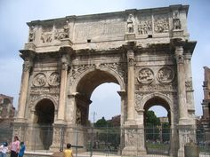 The Triumphal Arch in Rome