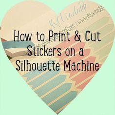 Silhouette Printing