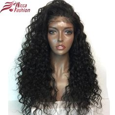Lace Front Wigs Hair Extensions & Wigs Audacious Straight Human Hair Lace Front Wigs Human Hair With Baby Hair Bangs Wig For Women 130% Density Natural Color