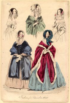 Fashions for December 1800s Fashion, Edwardian Fashion, Vintage Fashion, Historical Costume, Historical Clothing, Vintage Dresses, Vintage Outfits, Victorian Costume, Costume Collection