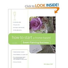 how to start a home based event planning business