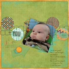 I Live For Little Moments Like This- Kit: The Pursuit of Happiness- Birthday Grab Bag from Wendy Tunison Designs, Template from Digital Designs by Noelle
