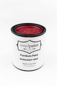 Wine Furniture, Vintage Furniture, Painted Fireplaces, Red Painted Furniture, Burgundy Paint, It Goes On, Weathered Wood, Wine Making, Dark Red