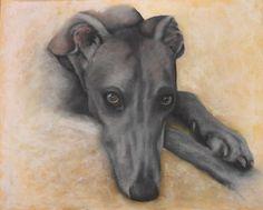 Beautiful tattoo of Greyhound