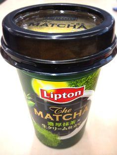 抹茶ティー@リプトン matcha tea