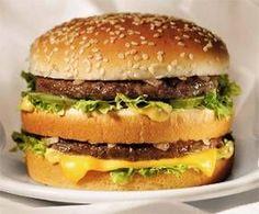 Thuis je Big mac maken. Bijna niet van echt te onderscheiden.