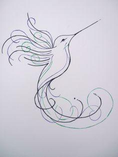 hummingbird_sketch_design_by_inmateharley-d94s7yl.jpg (1024×1365)