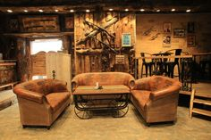 Cowboy themed cafe