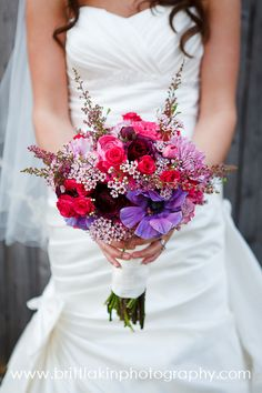 Gorgeous DIY Bouquet- Britt Lakin Photography