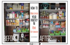 Finally an organized pantry! You can have one too, just follow mt lead!