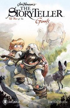 Jim Henson's The Storyteller: Giants #3 (of 4) #Arachia #Boom @boomstudios #JimHenson #TheStoryteller #Giant Release Date: 2/8/2017