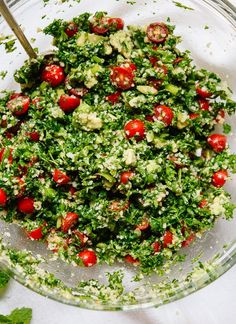 Great Avocado Tabbouleh Recipe - Cookie and Kate