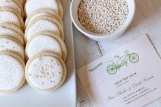 white wedding dessert table
