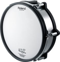 """Roland PD-125XS Metal Finish V-Drum 12"""" Snare Trigger Pad"""