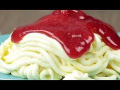 Spaghetti Eis leicht mit unserem Dessert Rezept selber machen