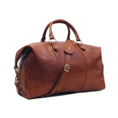 Leather Duffle Bag 21 / Floto 4046 Roma / Travel Bag by FlotoBags