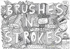 Brushes n strokes - a doodle art company , we sketch your stories